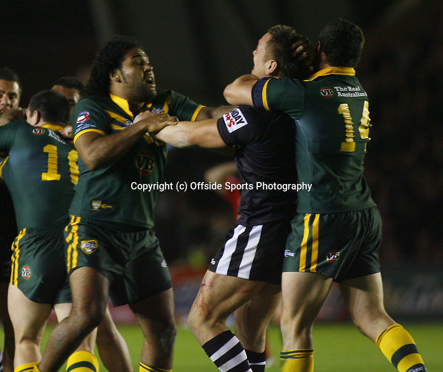 24/10/2009 Gillette Four Nations Rugby League.<br />