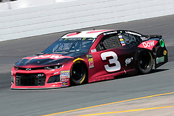 July 21, 2018 - Loudon, NH, U.S. - LOUDON, NH - JULY 21: Austin Dillon, Monster Energy NASCAR Cup Series driver of the Dow Chevrolet (3),  during practice for the Foxwoods Resort Casino 301 on July 21, 2018, at New Hampshire Motor Speedway in Loudon, New Hampshire. (Photo by Fred Kfoury III/Icon Sportswire) (Credit Image: © Fred Kfoury Iii/Icon SMI via ZUMA Press)
