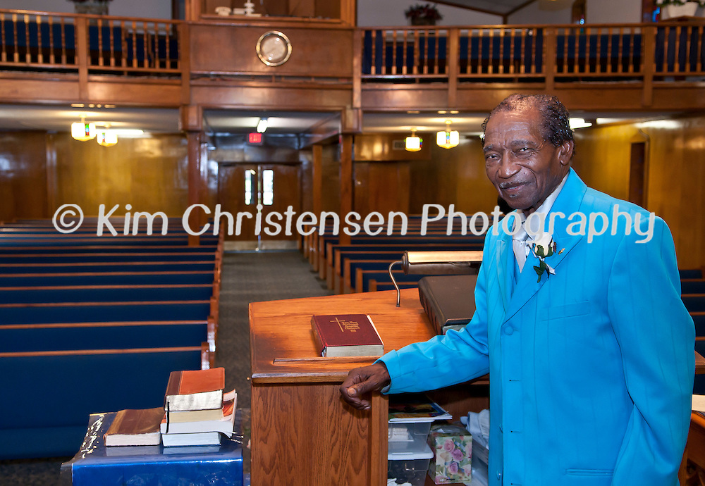 The Rev. D.N. Benford will be celebrating his 60th anniversary in ministry at Rising Star Missionary Baptist Church.