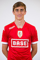 Standard's Julien De Sart pictured during the 2015-2016 season photo shoot of Belgian first league soccer team Standard de Liege, Monday 13 July 2015 in Liege.