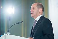 08 JUN 2018, BERLIN/GERMANY:<br /> Olaf Scholz, SPD, Bundesfinanzminister, Tag des deutschen Familienunternehmens, Stiftung Familienunternehmen, Hotel Adlon<br /> IMAGE: 20180608-01-048