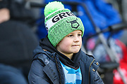 FGR fan during the EFL Sky Bet League 2 match between Forest Green Rovers and Exeter City at the New Lawn, Forest Green, United Kingdom on 1 January 2020.