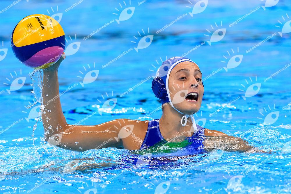 TABANI Chiara ITALIA <br /> Rio de Janeiro 19-08-2016 Olympic Aquatics Stadium  - Water Polo <br /> USA - ITALY Final <br />  Foto Andrea Staccioli/Deepbluemedia/Insidefoto