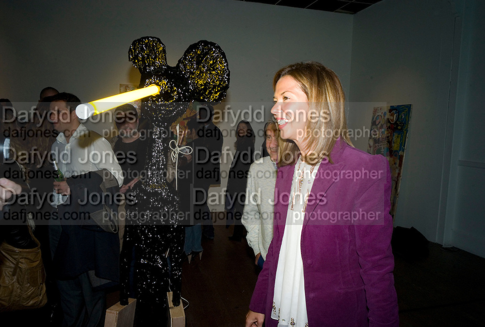 SOL AND HEATHER KERZNER, Happiness- Private view of work by Barry Reigate. Paradise Row, London and afterwards at Mark hix's new restaurant. ix Oyster and Chop House, 37-37 Greenhill Rents, Cowcross St, EC1. 14 March 2008. <br />