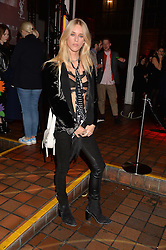 LADY MARY CHARTERIS at the YSL Beauty: YSL Loves Your Lips party held at The Boiler House,The Old Truman Brewery, Brick Lane,London on 20th January 2015.