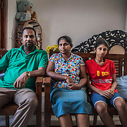 Pastor Pradeep. Forced to flee with his family to a house in a village near Colombo after their home and church at Weeraketiya were destroyed by a group of people led by Buddhist extremist monks