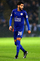 Riyad Mahrez of Leicester City - Mandatory by-line: Robbie Stephenson/JMP - 10/12/2016 - FOOTBALL - King Power Stadium - Leicester, England - Leicester City v Manchester City - Premier League