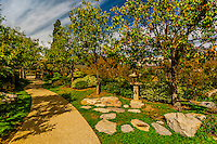 Japanese Friendship Garden, Balboa Park, San Diego, California USA.