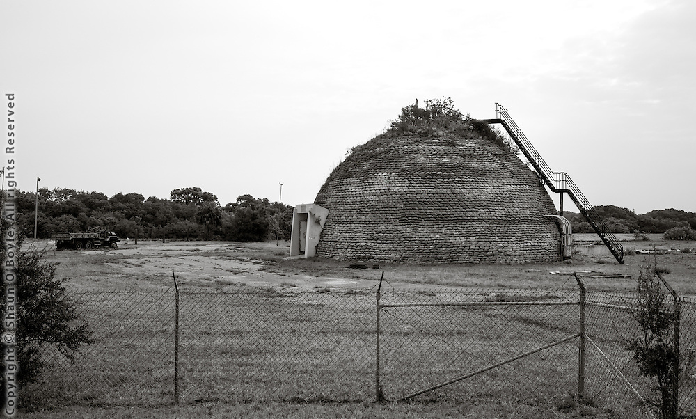 Beehive Blockhouse at launch complex 31, cape canaveral.