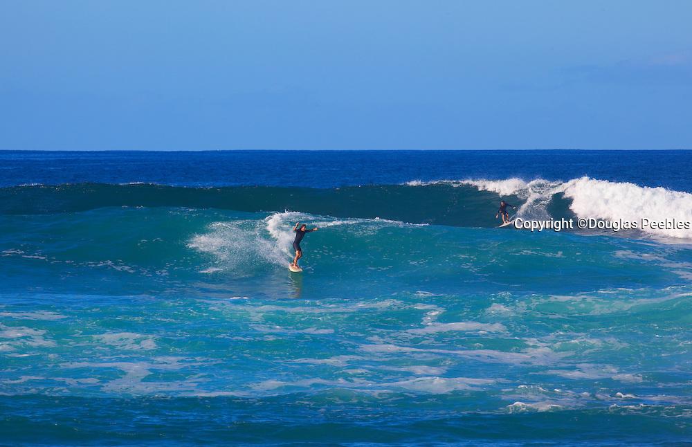 Surfing, Makaha Beach, Leeward, Oahu, Hawaii