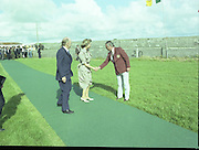 State Visit of King Juan Carlos and Queen Sophia of Spain to Ireland.<br /> 1986.<br /> 30.06.1986<br /> 06.30.1986.<br /> 30th June 1986.<br /> King Juan Carlos and Queen Sophia paid a state visit to Ireland at the invitation of President Hillery and the Irish people.<br /> The duration of the visit was three days.
