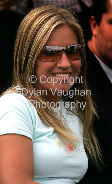 18/7/2004.Ann o Reilly  pictured yesterday at the Smithwicks Source Festival at Nowlan Park in Kilkennyh..Picture Dylan Vaughan
