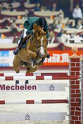 Alves Bernardo, Solitaire van het Costerveld, (BRA)<br /> CSI-W Mechelen 2003<br /> &copy; Hippo Foto-Dirk Caremans<br /> 27/12/03