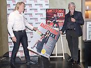Koninklijk Theater Carre, Amsterdam. Lancering van de zevende editie van Amsterdam XXXl. Op de foto: Hans Klok en Mark Teurlings