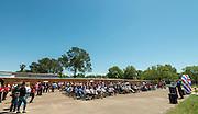 Ground breaking ceremonies at Parker Elementary School, April 2, 2016.