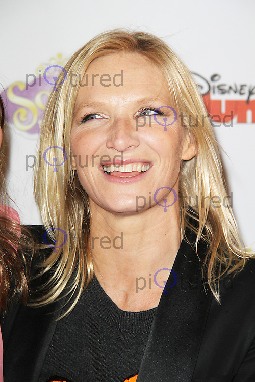 Jo Whiley, Sofia The First - Disney Junior launch screening, The May Fair Hotel London UK, 22 February 2013, (Photo by Richard Goldschmidt)