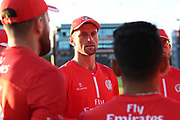 Lancashires Dane Vilas (Captain & Wicket Keeper) during the Vitality T20 Blast North Group match between Lancashire Lightning and Birmingham Bears at the Emirates, Old Trafford, Manchester, United Kingdom on 10 August 2018.
