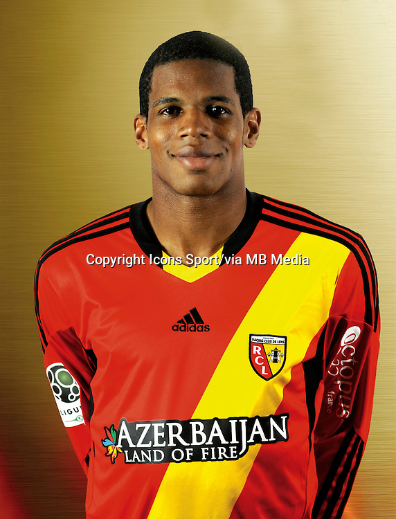 Ludovic BAAL - 11.12.2013 - Photo officielle Lens - Ligue 2<br /> Photo : Rclens.fr / Icon Sport