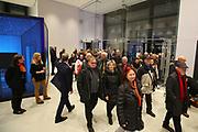 Mannheim. 15.12.17 |<br /> Kunsthalle. Neubau. Nachtaufnahmen von Aussen mit der Mesh-Fassade. Eröffnung<br /> <br /> Bild-ID 036 | Markus Proßwitz 15DEC17 / masterpress