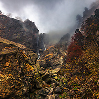 Kademliysko Praskalo waterfall in Balkan Mountains