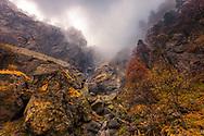 Kademliysko Praskalo waterfall in Balkan Mountains