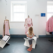 "03.06.2018.        <br /> An In-FLUX of visitors attended LSAD, Limerick School of Art and Design for one of Ireland's largest and most vibrant Graduate Shows.<br /> <br /> Checking out the Fashion Designs on display at the opening of the Flux exhibition was Alana Moynan, Killaloe Co. Clare.<br /> <br /> More than 200 Fine Art and Design students' work went on display from June 2 to June 10, 2018 at the LSAD Graduate Show - FLUX.<br /> LSAD has been central to Art, Craft and Design in the Limerick and Midwest region since 1852.<br />  <br /> The concept, branding and overall design of the 2018 LSAD Graduate Show - FLUX – is student led, and begins this Saturday June 2 and runs until June 10, 2018.<br />  <br /> FLUX encapsulates the movement and change from student to graduate. ""The ""X"" in ""FLUX"" represents the students and how they have made their mark in their time at college,"" explains designers Cathy Hogan and Will Harte as they outline the thinking behind the concept.<br />  <br /> FLUX describes the dynamic movement in the Limerick city region as it overcomes significant issues to become a fulcrum of rejuvenation, vibrant culture, strong industry growth and a centre of design.<br />  <br /> LSAD is also in a state of FLUX as it develops its enterprise potential and engagement with stakeholders across industry, public bodies, third level institutions and other partners overseeing a shift towards design, creativity and connectivity that goes far beyond the walls of its main campus on Clare Street. Picture: Alan Place"