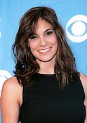 Actress Daniela Ruah poses at the CBS 2009 Upfronts at Terminal 5 in New York City, USA on May 20, 2009.