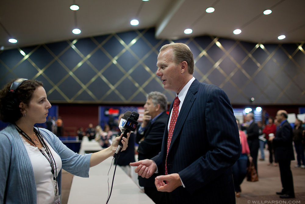 San Diego District 2 Councilmember Kevin Faulconer talks to KPBS.