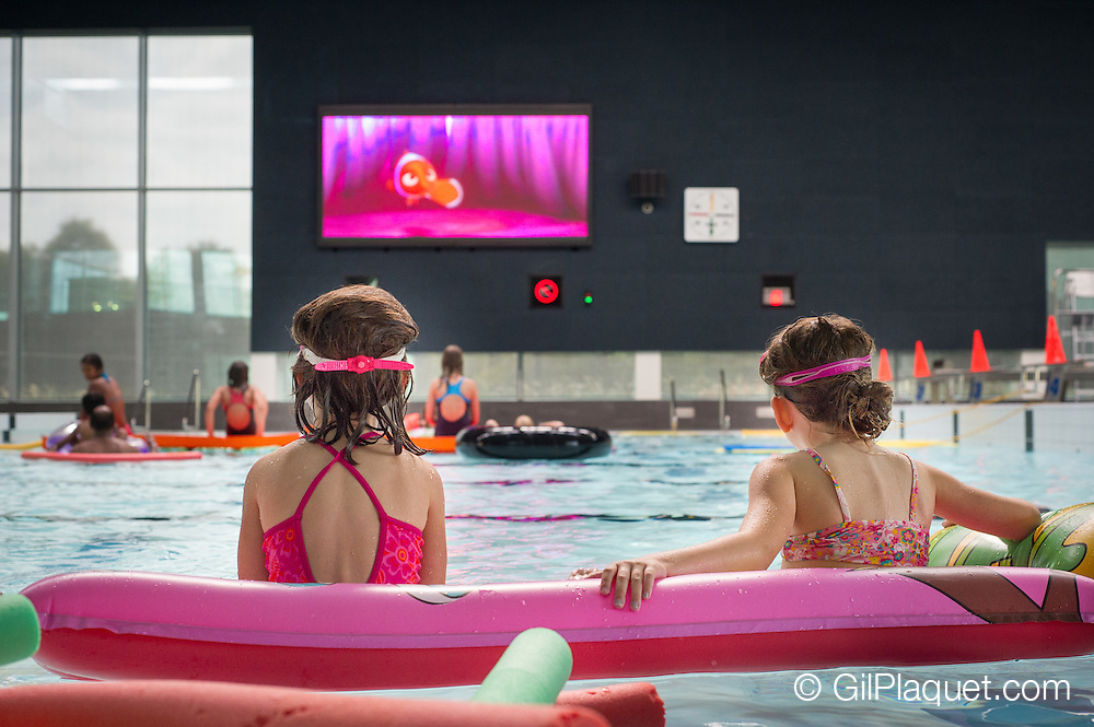Mechelen. Voorstelling Finding Nemo in Nekkerpool.