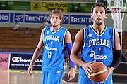 DESCRIZIONE : Trento Torneo Internazionale Maschile Trentino Cup Italia Portogallo Italy Portugal<br /> GIOCATORE : Marco Belinelli Stefano Mancinelli<br /> SQUADRA : Italia Italy<br /> EVENTO : Raduno Collegiale Nazionale Maschile <br /> GARA : Italia Portogallo Italy Portugal<br /> DATA : 27/07/2009 <br /> CATEGORIA : ritratto<br /> SPORT : Pallacanestro <br /> AUTORE : Agenzia Ciamillo-Castoria/E.Castoria