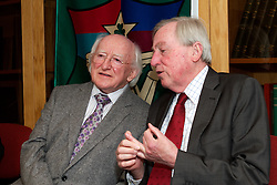 President Michael D. Higgins launched facsimile reproduction of Lia Fáil Irishleabhar Gaeilge Ollscoil na hÉireann, edited by Douglas Hyde...Thursday, 21 March 2013 - National University of Ireland, .49 Merrion Square at 5.30pm..President Michael D. Higgins today launched a facsimile reproduction of Lia Fáil Irishleabhar Gaeilge Ollscoil na hÉireann. This is a journal of modern Irish studies edited by Douglas Hyde when Professor of Irish in UCD and originally published by the NUI..The Chancellor of NUI, Dr Maurice Manning welcomed the President. Replying to the President, Professor Liam Mac Mathúna, editor of the new edition of Lia Fáil, remarked that: ?We are very honoured this evening that President Michael D. Higgins has joined us in recognising the outstanding contribution which Douglas Hyde made to Irish life over a period of more than sixty years, as he laboured tirelessly as a pioneering revivalist, as a dedicated scholar and as an active participant in public affairs?..Professor Mac Mathúna also noted that ?the care taken by the National University of Ireland with Lia Fáil, and the recognition accorded by President Michael D. Higgins to its editor and his predecessor, Dr Douglas Hyde, may be taken as being indicative of an ongoing national commitment to Irish language scholarship, which will continue to have its central forum in the pages of Éigse: A Journal of Irish Studies, the successor to Lia Fáil?. The latest edition of Éigse, edited by Professor Mac Mathúna will be published shortly..Note.Hyde was appointed first Professor of Modern Irish in UCD in 1909. In 1922 the Senate of the National University of Ireland accepted a recommendation from the Professors of Irish that the Dr. Adam Boyd Simpson bequest should be used to fund 'a journal of Irish research'. Hyde (Dubhglas de h-Íde, An Craoibhín) was appointed editor. The result was Lia Fáil, an Irish language journal. Four volumes were published between 1925 and 1932, the year of Hyde's retirement from U