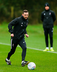 Bristol City assistant Head Coach Jamie McAllister - Rogan/JMP - 23/01/2020 - Failand - Bristol, England - Sky Bet Championship.
