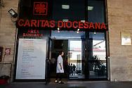 Roma 18 Luglio 2013<br /> L'ingresso del Poliambulatorio della Caritas di Roma alla Stazione Termini