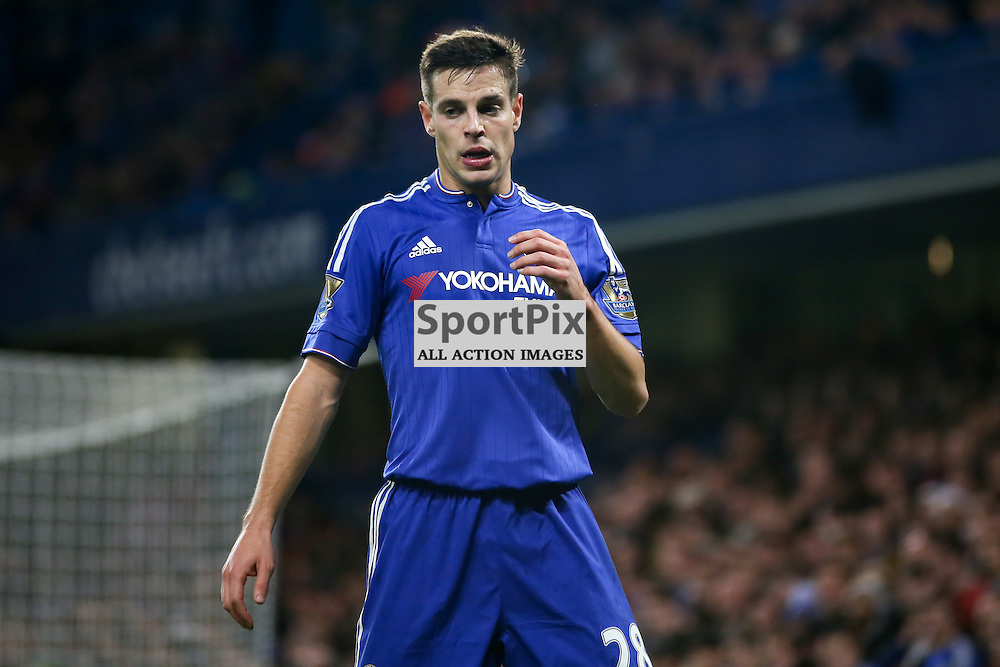 Cesar Azpilicueta During Chelsea vs Sunderland on Saturday the 19th December 2015.