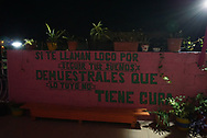 Viaggio in Messico, Playa del Carmen vita notturna, novembre 2016 © foto Daniele Mosna