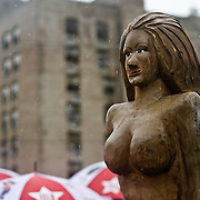 Images of Coney Island Mermaid Parade 2009.