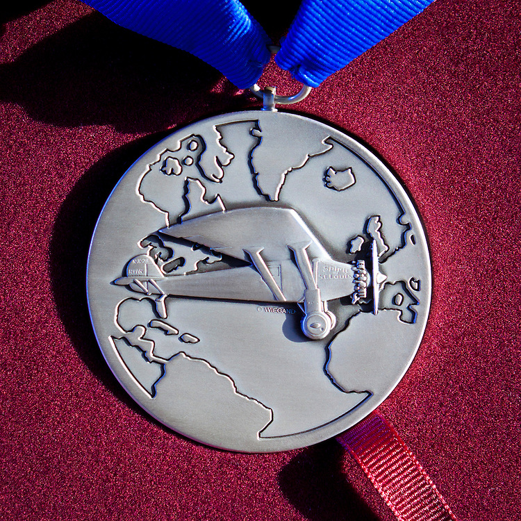 The Lindbergh Award, given in 2012 to Dr. Forest Bird.