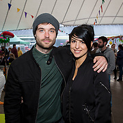14.06.2018.             <br /> Limerick Food Group hosted the Urban Food Fest street food evening in the Milk Market on Thursday June 14th with a 'Summer Fiesta' theme in one big Limerick city summer party.<br /> <br /> Pictured at the event were, Darren Hyland and Marisa Mountaki. Picture: Alan Place