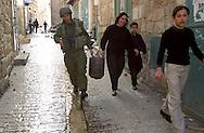photo:Nadav Neuhaus ..Avishai Minx lieutenant in the IDF.in bet-Lehem on the time that Israel carry out the curfew.