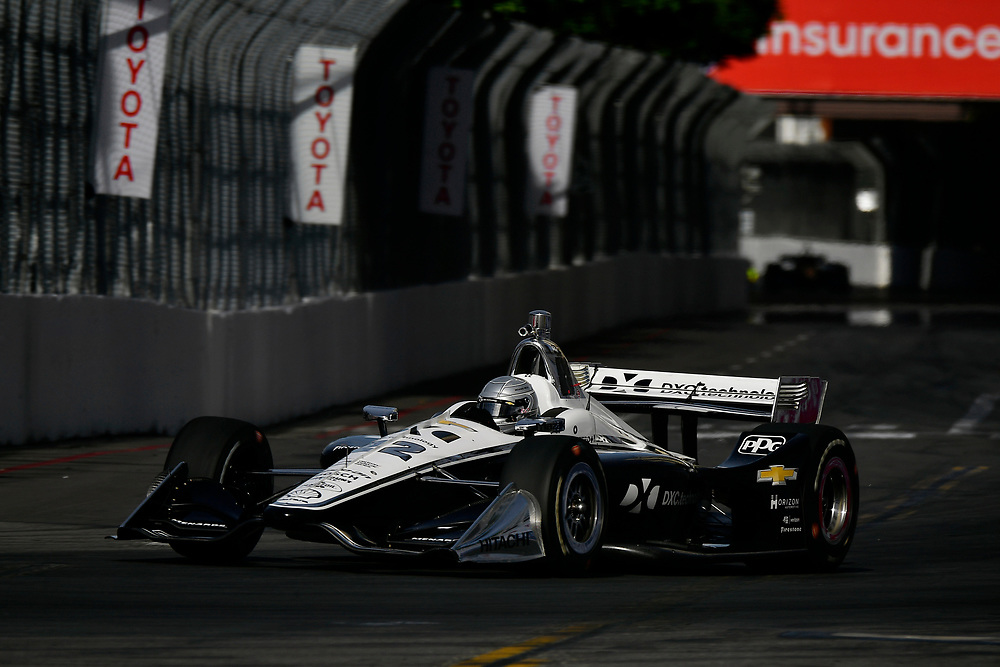 Simon Pagenaud, Team Penske Chevrolet<br /> Sunday 15 April 2018<br /> Toyota Grand Prix of Long Beach<br /> Verizon IndyCar Series<br /> Streets of Long Beach, California USA<br /> World Copyright: Scott R LePage<br /> LAT Images