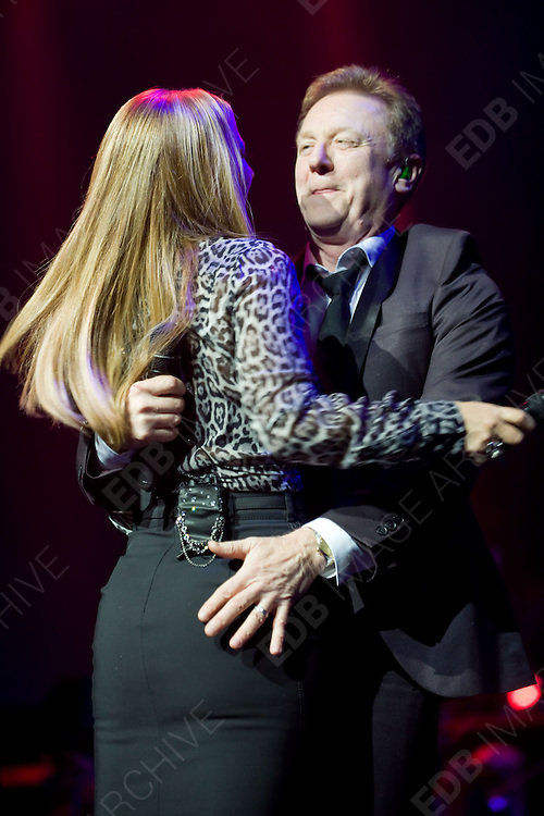 30.NOVEMBER.2012. COLOGNE<br /> <br /> CELEBRITIES PERFORM ON STAGE AT THE &quot;AIDA NIGHT OF THE PROMS&quot; HELD AT THE LANXESS ARENA IN COLOGNE, GERMANY. <br />   <br /> BYLINE: EDBIMAGEARCHIVE.CO.UK<br /> <br /> *THIS IMAGE IS STRICTLY FOR UK NEWSPAPERS AND MAGAZINES ONLY*<br /> *FOR WORLD WIDE SALES AND WEB USE PLEASE CONTACT EDBIMAGEARCHIVE - 0208 954 5968*