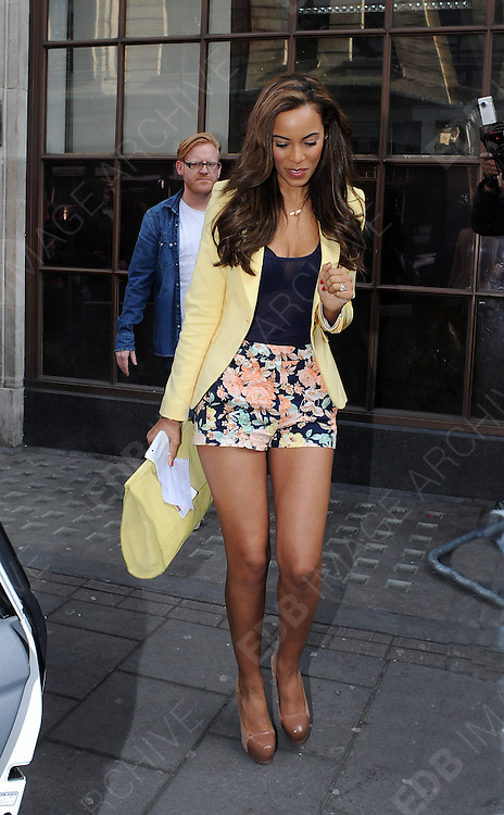 16.APRIL.2012. LONDON<br /> <br /> ROCHELLE WISEMAN OF THE SATURDAYS LEAVING THE RADIO 1 STUDIOS IN CENTRAL LONDON<br /> <br /> BYLINE: EDBIMAGEARCHIVE.COM<br /> <br /> *THIS IMAGE IS STRICTLY FOR UK NEWSPAPERS AND MAGAZINES ONLY*<br /> *FOR WORLD WIDE SALES AND WEB USE PLEASE CONTACT EDBIMAGEARCHIVE - 0208 954 5968*