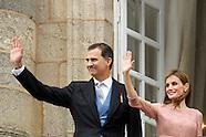 072514 Spanish Royals visit Santiago de Compostela