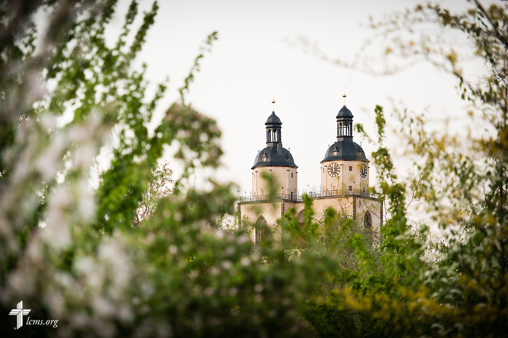 Photographs of the Town and Parish Church of St. Mary's on Thursday, May 7, 2015, in Wittenberg, Germany. LCMS Communications/Erik M. Lunsford