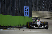September 18-21, 2014 : Singapore Formula One Grand Prix - Esteban Gutierrez (MEX), Sauber-Ferrari