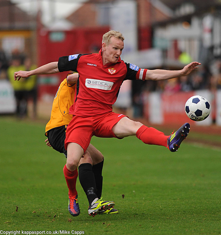 MARCUS KELLY KETTERING TOWN 2011Cambridge United v Kettering Town, Abbey Stadium, Blue Square Premier, Monday 9th April 2012