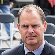 NLD/Amsterdam/20140504 - Dodenherdenking 2014 Olympisch Stadion, Ajax coach Frank de Boer
