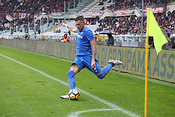 March 18, 2018 - Turin, Piedmont, Italy - Cristiano Biraghi (ACF Fiorentina) during the Serie A football match between Torino FC and ACF Fiorentina at Olympic Grande Torino Stadium on 18 March, 2018 in Turin, Italy. Final results: 1-2  (Credit Image: © Massimiliano Ferraro/NurPhoto via ZUMA Press)