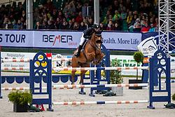 FUKUSHIMA Daisuke (JPN), Chanyon<br /> Hagen - Horses and Dreams 2019<br /> Preis der LVM Versicherung - CSI4* Quali. BEMER-RIDERS TOUR-Wertung<br /> 27. April 2019<br /> © www.sportfotos-lafrentz.de/Stefan Lafrentz