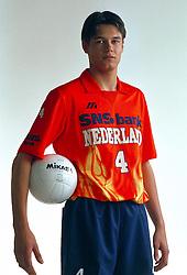 21-05-1997 VOLLEYBAL: TEAMPRESENTATIE MANNEN: WOERDEN<br /> Reinder Nummerdor<br /> ©2007-WWW.FOTOHOOGENDOORN.NL